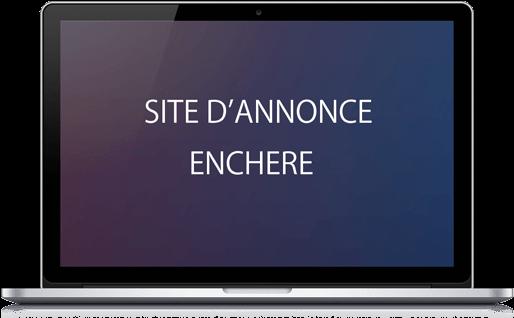 Site concept enchère
