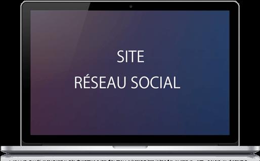 Site concept social / rencontre