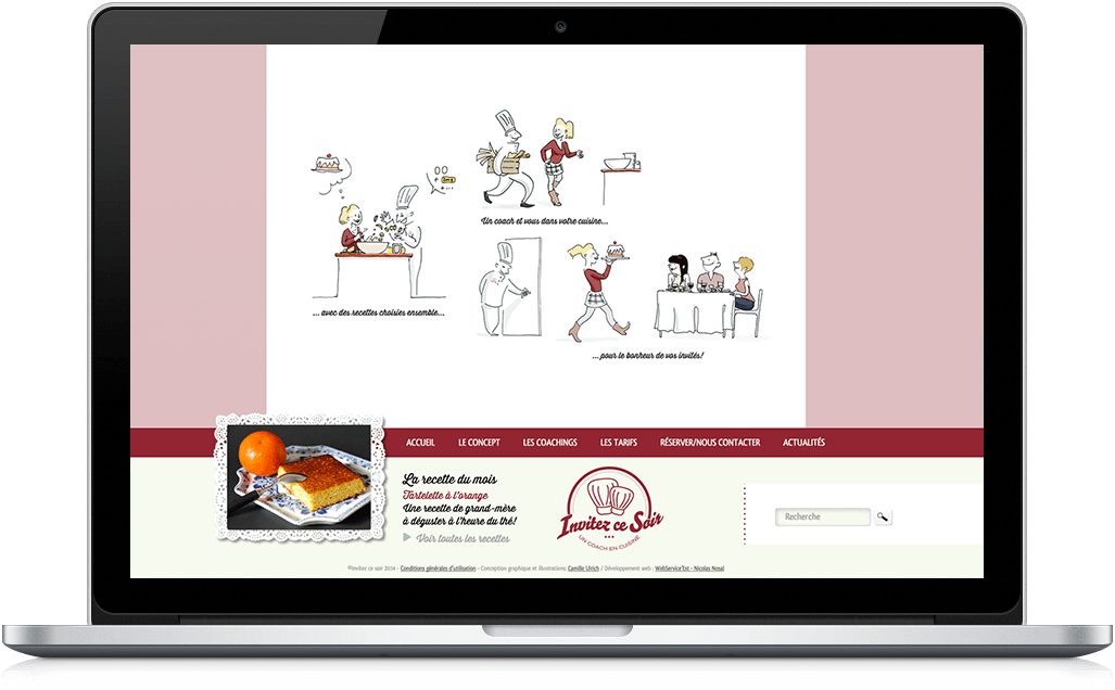 Site concept booking reservation