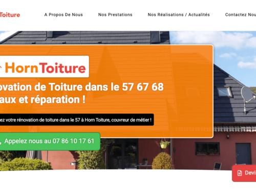 Site Vitrine: Horn Toiture