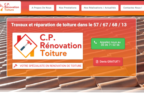 Site Vitrine : Cp Rénovation Toiture